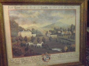 Classic Bombay Co Fair Lawn in County of Lincoln Framed Print!