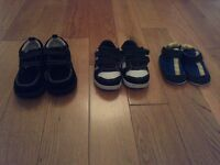 Baby Boy Shoes -x3 (Sizes 4 and 5)