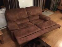 Large corner sofa, 2 seater sofa &armchair