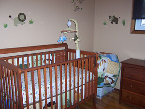 Storkraft Crib, Change Table & Acessories for Sale
