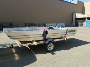 Aluminum fishing JON boat $1400!