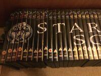 Complete set of Stargate SG1 and Stargate Atlantis DVDs 1-90 sell £30