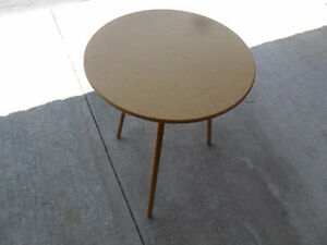 "Round Bedside or End Table  20"" Diameter"