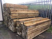 4x4 Wooden fence posts