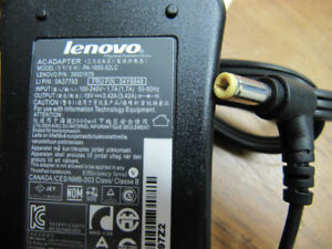 Genuine Lenovo Ideapad laptop charger pa-1650-52lc