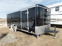 cargo trailer converted for hunting big game