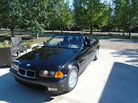 1995 BMW 3-Series Black Convertible