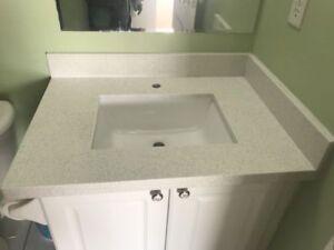 Brand New Granite/ Quartz Vanity Tops only $99