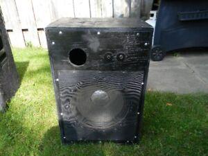 Home Made 12 inch Speaker Box