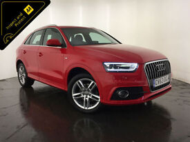 2013 63 AUDI Q3 S LINE TDI ESTATE 1 OWNER FROM NEW FINANCE PX WELCOME
