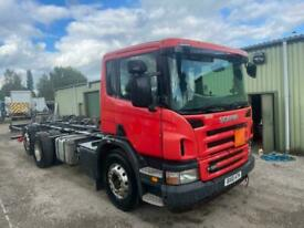 Scania P SERIES 320 6x2 REAR LIFT MANUAL GEARBOX CHASSIS CAB