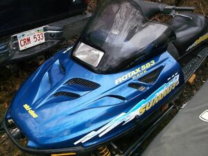 1997 Ski-doo 583 Summit for sale