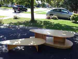Double deck Table.  Can be separated and used as two tables. Oakville / Halton Region Toronto (GTA) image 1