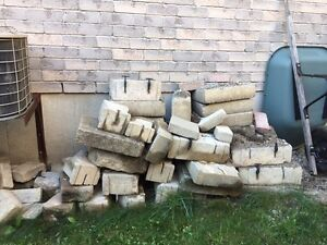 Free brick. Mainly retaining wall.