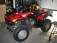 Parting Out 2002 Honda 350 4X4 Fourtrax (Rancher)