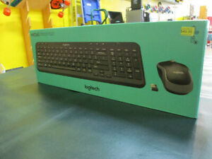 Logitech Wireless Keyboard and Mouse For Sale at Nearly New!