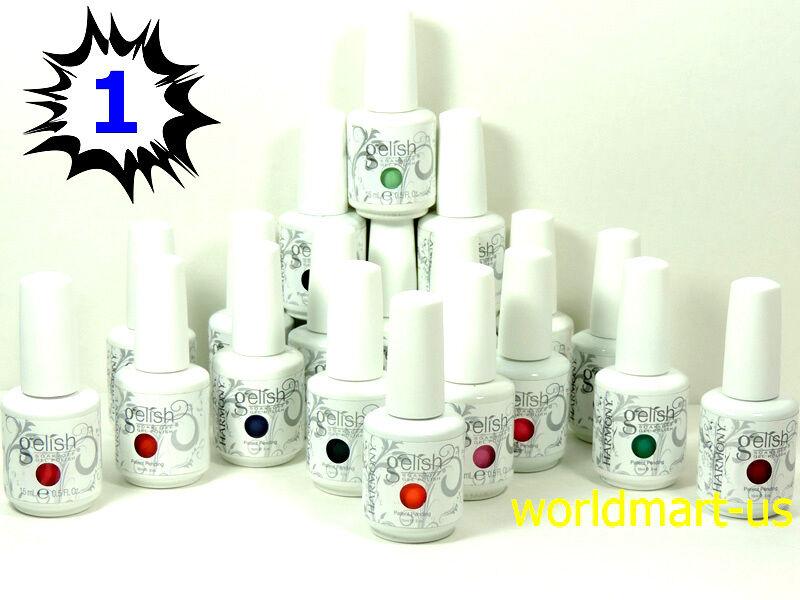 GELISH HARMONY Gel Nail Polish Soak off 15ml/0.5oz / Pick An
