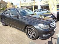 BAD CREDIT CAR FINANCE AVAILABLE 2013 63 MERCEDES C250 CDi SPORT AMG LINE