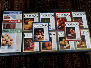 Cooks Illustrated + Cooks Country Magazines