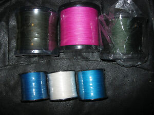 Braided fishing lines from 6lbs to 100lbs from 100m to 1000m
