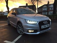 **2015 64 REG** AUDI A1 S LINE STYLE EDITION CAT D REPAIRED LOW MILAGE 17K L@@K!!!