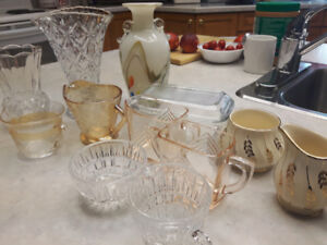 Various Parts of Serving Set, $40 obo