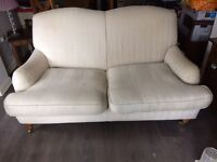 Striped Two seater sofa
