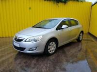 2011 VAUXHALL ASTRA EXCLUSIV 113 1.6 PETROL 5 SPEE, category S