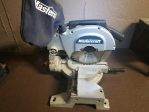 "Mastercraft 10"" compound mitre saw"