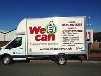 We Can Man and Van, Reliable Man and Van Service. Jobs from £20, call 07757673508 for a free quote
