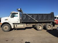 Gravel truck for sale