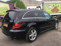 LHD LEFT HAND DRIVE 2006 MERCEDES R320 CDI LOW MILES AUTOMATIC 4X4 SERVICE HIST