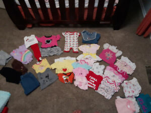 O to 12 months girl clothes