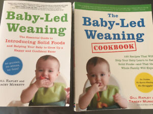 Books - Baby Led Weaning (cookbook included)