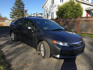 2012 Honda Civic LX Berline / Full équipe