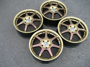 American race rims 16x7 5x100 refinished