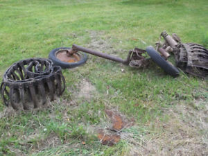 Ford 9n tractor tracks SOLD PPU