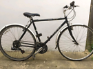 "Trek 721 Hybrid bike. 21"" frame large. 700cc wheels. Fully working"