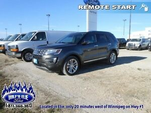 2016 Ford Explorer Limited   - Low Mileage - Navigation - 7 pass