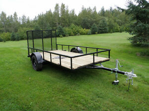 New 6' x 12' utility trailer for sale