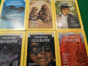 National Geographic old issues