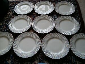 Set of 10 Minton Mintons Garden Pinks Dinner Plates