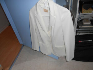 Women's  White Suit
