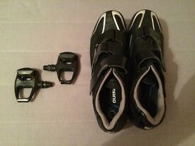 Shimano Road Cycling Shoes and SPD pedals