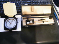 Keuffel&Esser compass and compensating polar planimeter