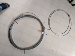 Galvanized steel aircraft cable
