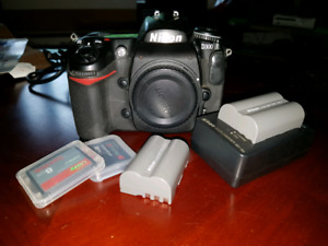 Nikon D300 Infrared Camera (only shoots infrared)