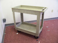 TRAY-SHELF UTILITY CART