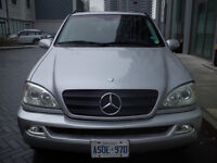MERCEDEZ-BENZ ML 350 2004  **ASIS**GREAT TO DRIVE TODAY