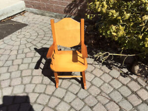 Kid Wooden Rocking Chair
